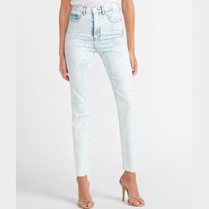 """""""NEW"""" Express Slim Ankle Super High-Rise Jeans"""